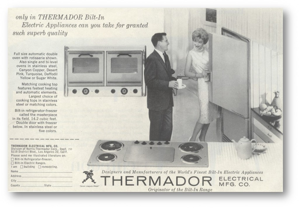 Thermador home appliance blog vintage thermador kitchen innovation first refrigerator refrigeration asfbconference2016 Gallery
