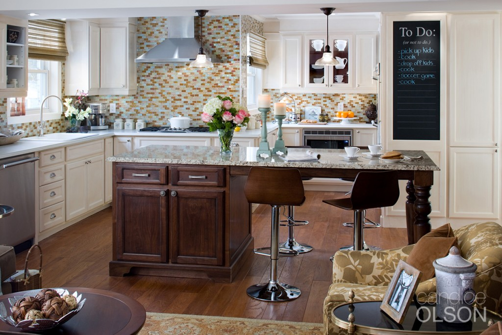 View of a Candice Olson Thermador Kitchen
