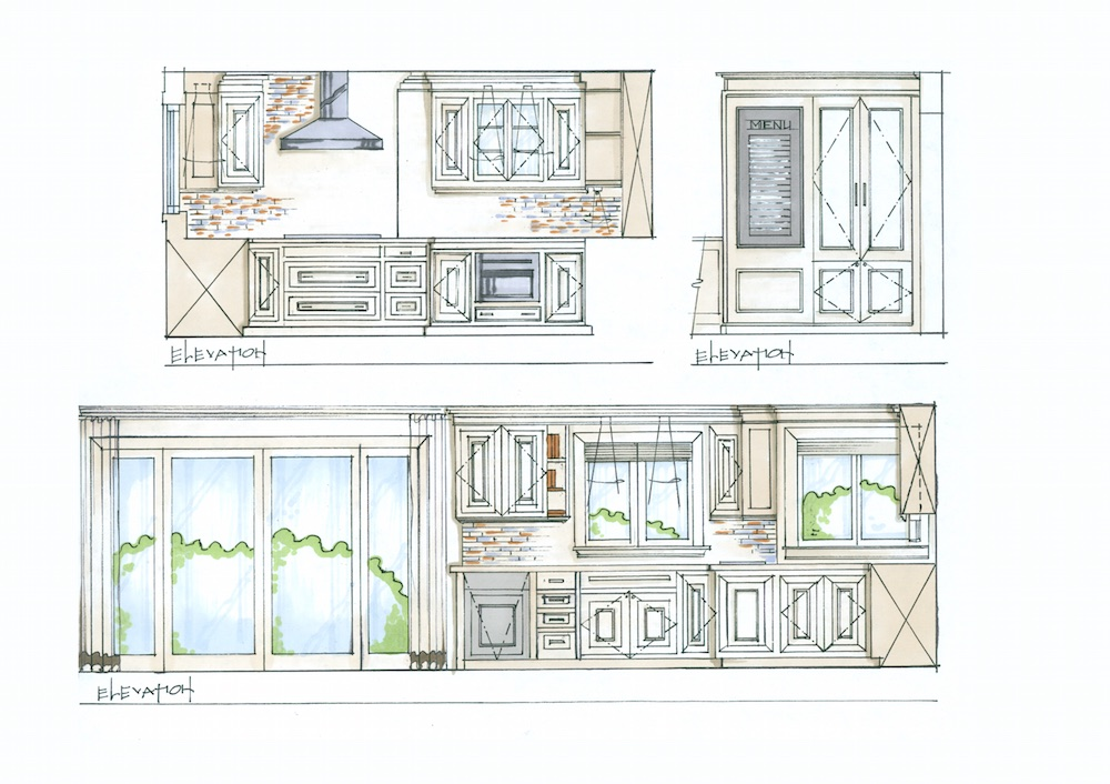 Plans for Candice Olson Thermador Kitchen